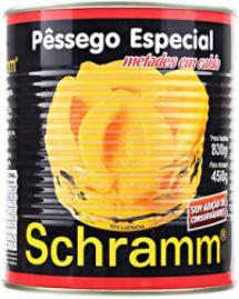 PESSEGO EM CALDA - SCHRAMM - 450g