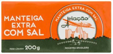 Manteiga com sal - Aviaçao