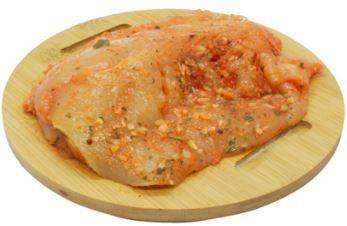 File de frango temperado - Por kg