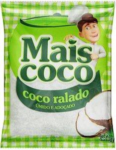 COCO RALADO - MAIS COCO - 50g