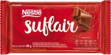 CHOCOLATE SUFLAIR - NESTLE - 80g