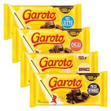 Chocolate em barra - Garoto - 90g