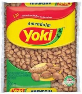 AMENDOIM BRANCO - YOKI - 500g