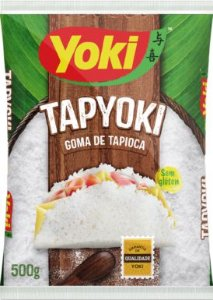 Goma de mandioca - Tapyoki
