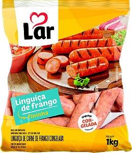 LINGUIÇA DE FRANGO CONGELADA - LAR - 1kg