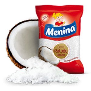 Coco ralado - Menina - 100g