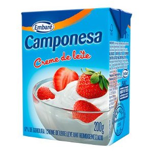 Creme de leite - Camponesa - 200g