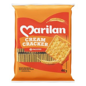 BISCOITO CREAM CRACKER - MARILAN