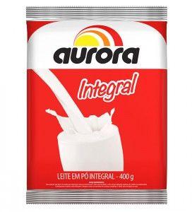 Leite em po integral - Aurora - 400g