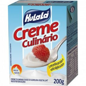 Creme culinario vegetal - Hulala - 200g