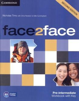 Face2face Pre-Intermediate - Workbook With Key - 2nd Ed