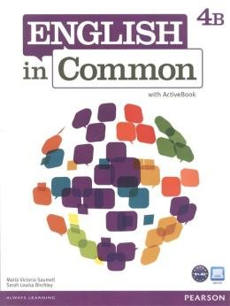 English In Common 4B - Student Book With Workbook And Activebook