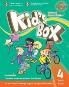 Kids Box 4 PB Updated 2ed