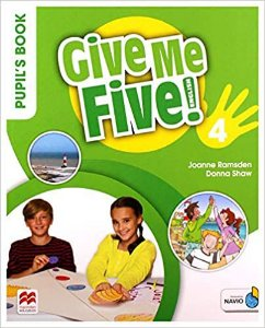 Give Me Five! Pupil'S Book Pack W/Activity Book-4