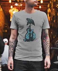 Camiseta Guitarra Corvo