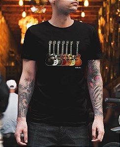 Camiseta Conjunto Guitarras