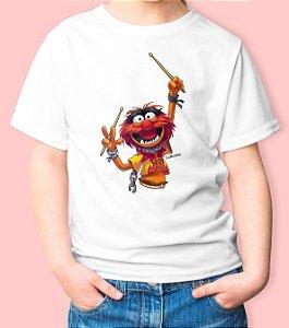 Camiseta Infantil Animal Batera