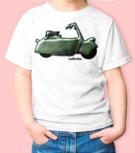 Camiseta Infantil Vespa Paperino