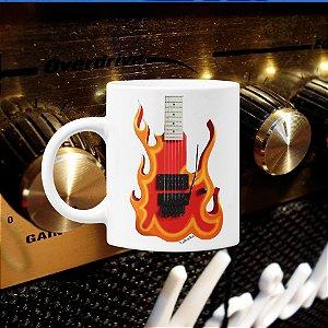 Caneca Guitarra Fire