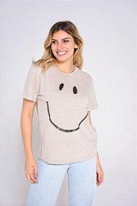 CAMISETA SMILE TERRA FEMININA