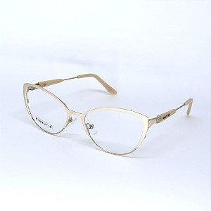 Armação de Óculos de Grau Avila Bege Seja Cereja