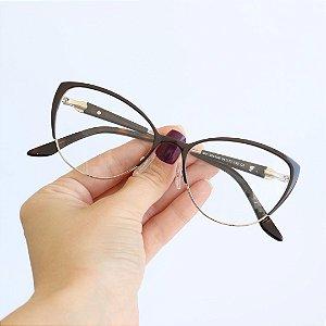 Armação de Óculos de Grau Avila Preto