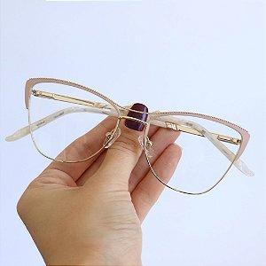 Armação de Óculos de Grau Gatinho Valência