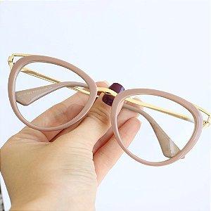 Armação de Óculos de Grau Ravenna Rosa