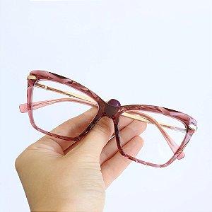 Armação de Óculos de Grau Deli Rose