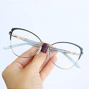 Armação de Óculos de Grau Gatinho Heredya