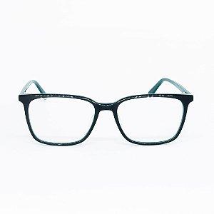 Armação de Óculos de Grau Retangular Brindisi Verde
