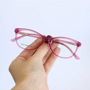 Armação de Óculos de Grau Sullana Rosa