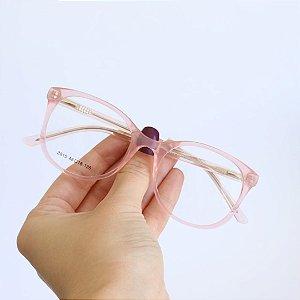Armação de Óculos de Grau Infantil Cali Rosa Seja Cereja