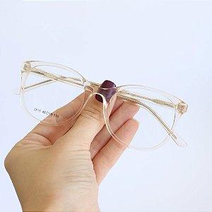 Armação de Óculos de Grau Infantil Cali Transparente Seja Cereja