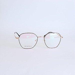 Armação de óculos de grau Hexagonal Pelham Seja Cereja