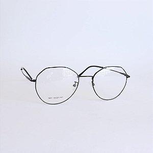 Armação de óculos de Grau Hexagonal Montgomery Seja Cereja