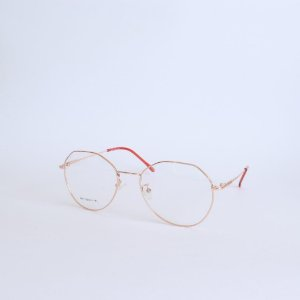 Armação de óculos de Grau Rose Gold Montgomery Seja Cereja