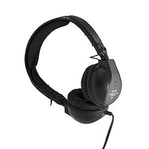 Fone de ouvido para DJ - Preto - HP-525BK