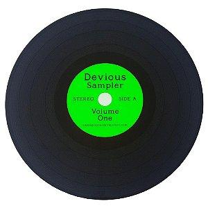 Jogo Americano Disco de Vinil Devious Sampler - Verde - 2 unid.