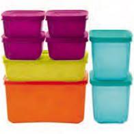 Kit Freezer Line Tupperware 8 Peças