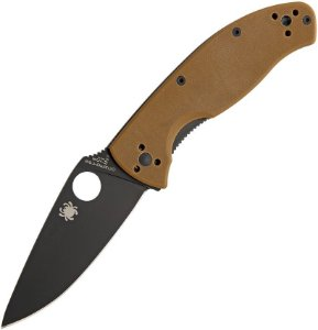 Canivete Spyderco Tenacious Brown G10 Plain C122GPBBN