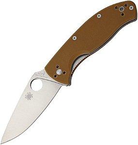 Canivete Spyderco Tenacious Brown G10 Plain C122GPBN