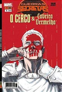 GUERRAS SECRETAS  O CERCO  & CAVEIRA VERMELHA