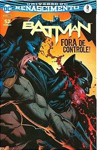UNIVERSO DC RENASCIMENTO: BATMAN - 3