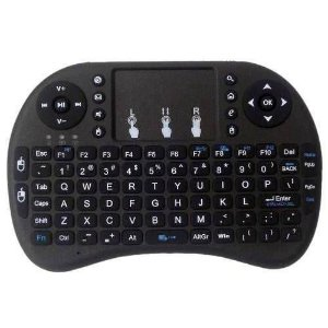 MINI TECLADO SEM FIO PARA SMART TV, TV BOX, PC, GAME