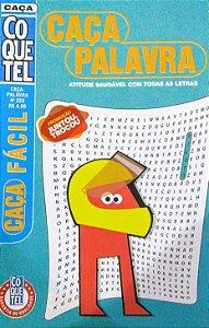 CAÇA PALAVRA- COQUETEL - CAÇA FÁCIL - Nº 258