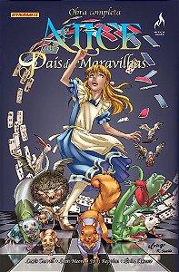 ALICE NO PAÍS DAS MARAVILHAS Nº 01 OBRA COMPLETA  - John Reppion e Leah Moore