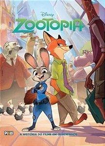 ZOOTOPIA - A HISTORIA DO FILME EM QUADRINHOS