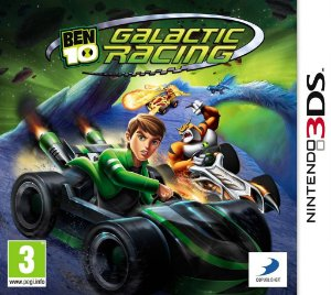 Nintendo 3DS - Ben 10 Galactic Racing