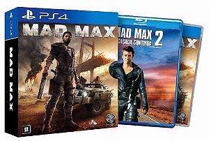 Playstation 4 - Mad Max + filme Mad Max 2 A Caçada Continua